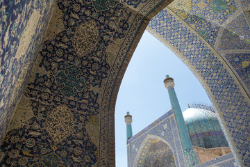 Mosque in Isfahan, Iran.