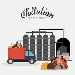 pollution concept design