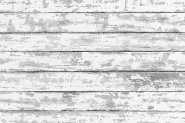 Black and white grungy texture of wood background Wall mural