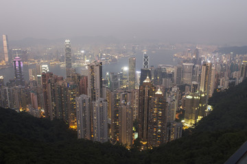 Hongkong at the peak