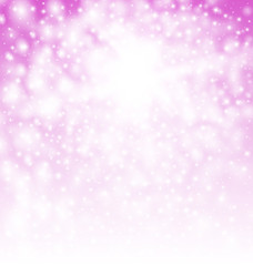 Glitter Magic Background with Copy Space for Your Text