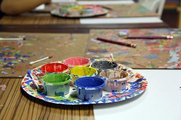 Color palette / Color palette, DIY using for painting