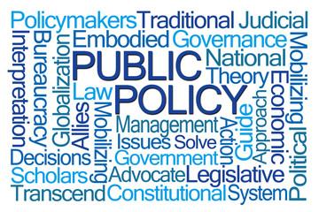 Public Policy Word Cloud
