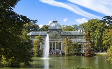 Palacio de cristal,Madrid