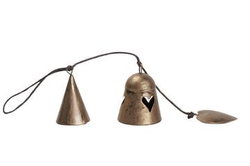 Adorno Navidad campanas de bronce