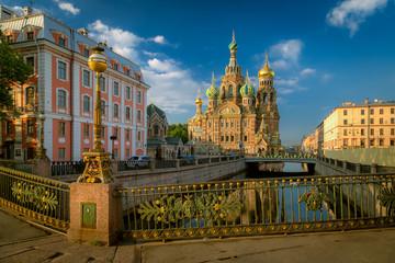 Church of the Resurrection (Savior on Spilled Blood). St. Petersburg