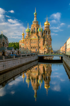Church of the Resurrection (Savior on Spilled Blood). St. Petersburg