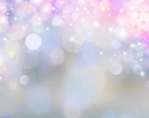 Winter soft blur background.