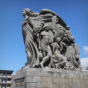 Monument à la mémoire des soldats morts  pour la patrie - Le Havre.