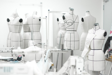 Mannequins in a studio, Seoul, South Korea
