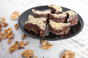Chocolate and Walnut Cake