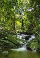 Waterfall (Sai Thip) at Phu Soi Dao National Park, Uttaradit, Thailand