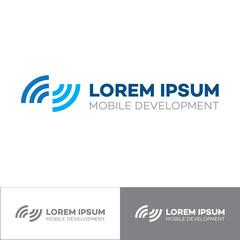 Signal Development Logo, vector design