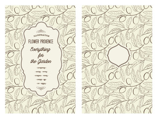 Book cover with olive.