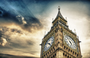The BigBen in London