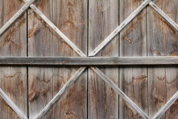 vintage wooden barn door background