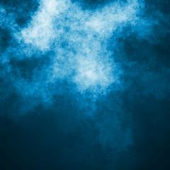 Blue dark sky illustration