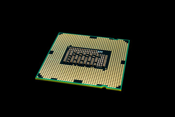 Electronic collection - Computer CPU (Central Processing Unit) c