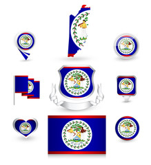 Belize Flag Collection