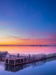 Sunset in Lefkas island