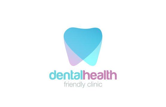 Dent Logo design vector. Dental clinic Logotype concept