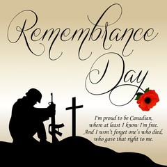 Remembrance Day Vector Template Buy This Stock Vector And Explore