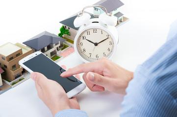 住宅 タブレット スマートフォン