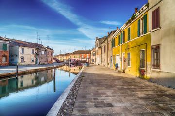 houses in Comacchio, the little Venice