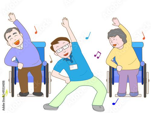 Quot 高齢者のの体操 Quot Fotolia Com の ストック画像とロイヤリティフリーのベクターファイル Pic