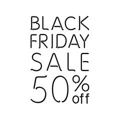 Black Friday Calligraphic Designs | Retro Style Elements | Vintage Ornaments | Sale, Clearance | Vector