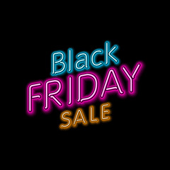 black friday hanging sign. Vector Illustration, eps10, contains transparencies.