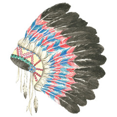 Headdress of indian chief