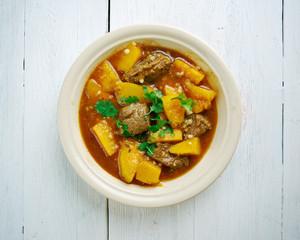 Beef  Squash Stew