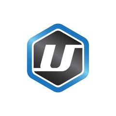 U Hexagonal Logo