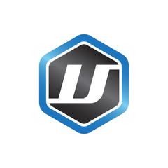 V Hexagonal Logo