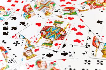 Kartenspiel Hintergrund
