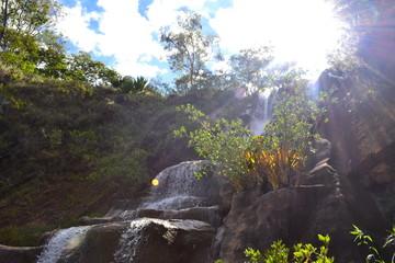 Wasserfall in Brasilien