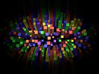 Rainbow ColorExplosion bars