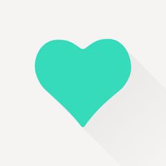Vector game heart icon