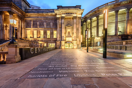 Central Library Liverpool