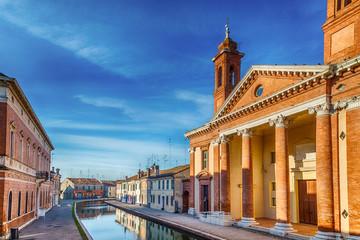 Saint Camillo Hospital in Comacchio, the little Venice