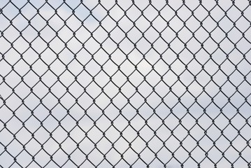 iron fence background