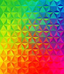Foto op Canvas ZigZag vector colorful background