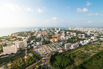 city scapes pattaya thailand 2015