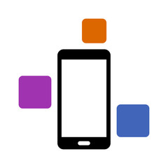 Modular smart phone with different modules