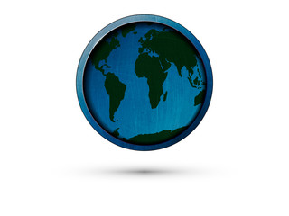 round icon Earth