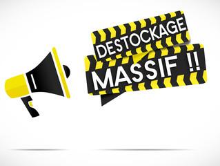 mégaphone : déstockage massif !!
