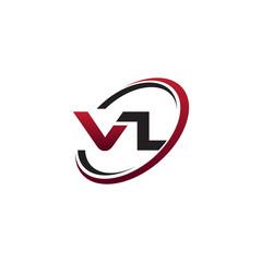 Modern Initial Logo Circle VL