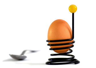 Wire egg cup