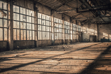 Old Empty Factory